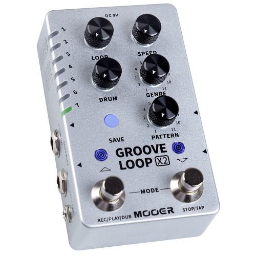 Mooer Groove Loop X2 Efektipedaali