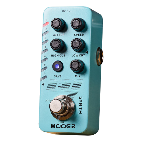 Mooer E7 Polyphonic Guitar Synth Effects Pedal