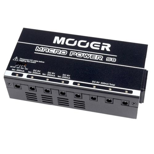 Mooer Macro Power S8 Virtalähde