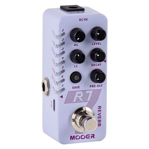Mooer R7 Digital Reverb Efektipedaali