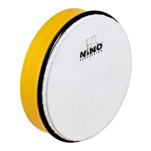 "NINO Percussion 45Y 8"" Hand Drum, Yellow"