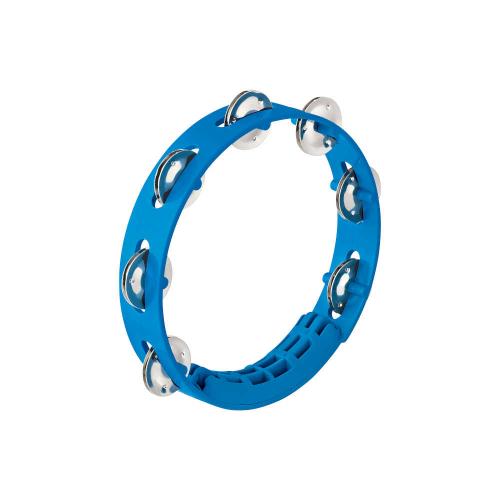 """NINO 49SB Tambourine 8"""", Blue"""