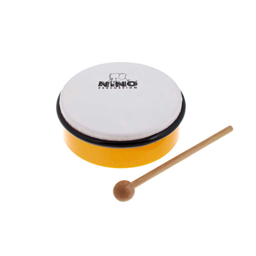 """NINO 4Y Hand Drum 6"""", yellow"""
