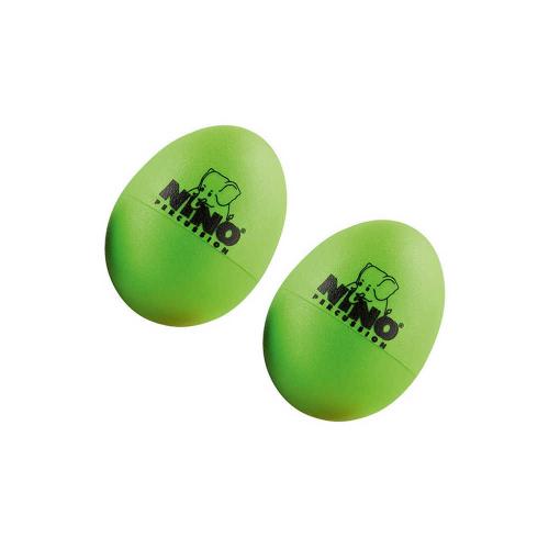 NINO 540GG-2 Egg Shaker Set (2), Grass Green
