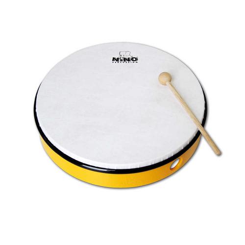 """NINO 5Y Hand Drum 10"""", Yellow"""