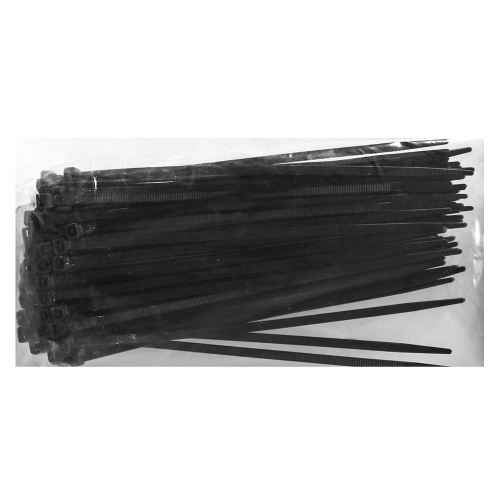 Cablematic Cable Tie Black 3.6x200 100-Pack