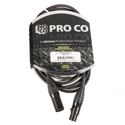 ProCo Ameriquad AQ-10 Microphone Cable 3m