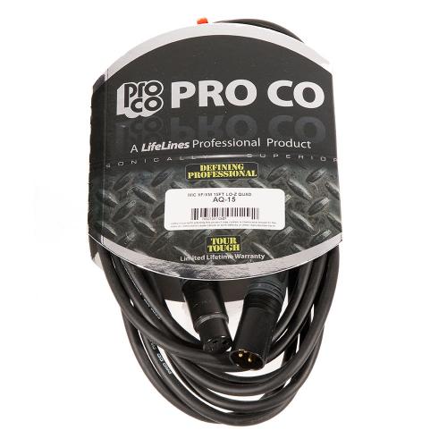 ProCo Ameriquad AQ-15 Microphone Cable 4.5m