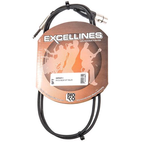 ProCo Excellines EBPBQXF-5 Balanced Cable 1.5m