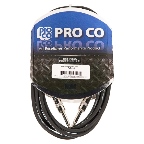 ProCo EG-10 Excellines Instrument Cable 3m