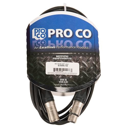 ProCo Excellines EXMN-10 Mikrofonijohto 3m