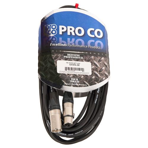 ProCo Excellines EXMN-30 Mikrofonijohto 9m