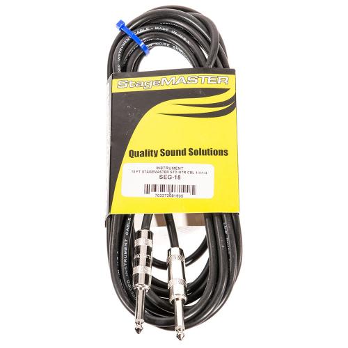 ProCo SEG-186 StageMASTER Instrument Cable 5.6m