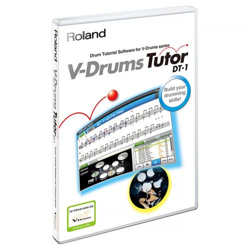 Roland DT-1 V-Drums Drum Tutor Tietokoneohjelma