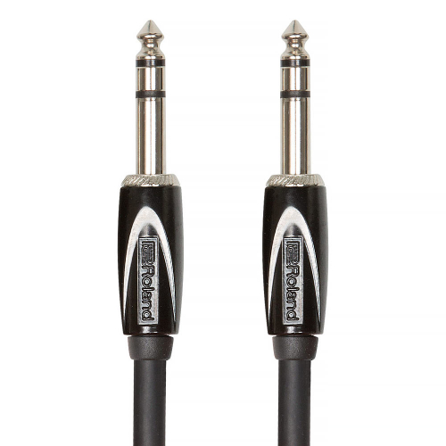 Roland RCC-3-TRTR Interconnect Cable Stereo Plugs 1m