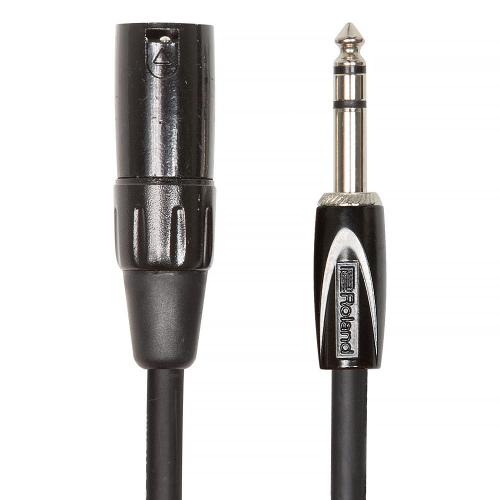 Roland RCC-15-TRXM Balanced Cable XLRM-Plug 4.5m