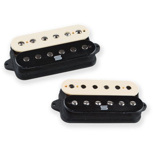 Seymour Duncan Duality Zebra Guitar Pickups Set
