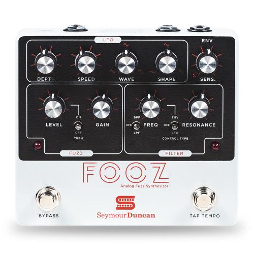 Seymour Duncan Fooz Analog Fuzz Synth Efektipedaali