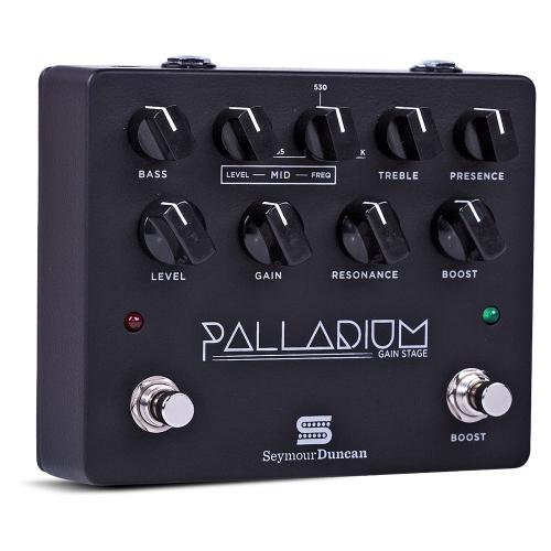 Seymour Duncan Palladium Gain Stage Black Pedal