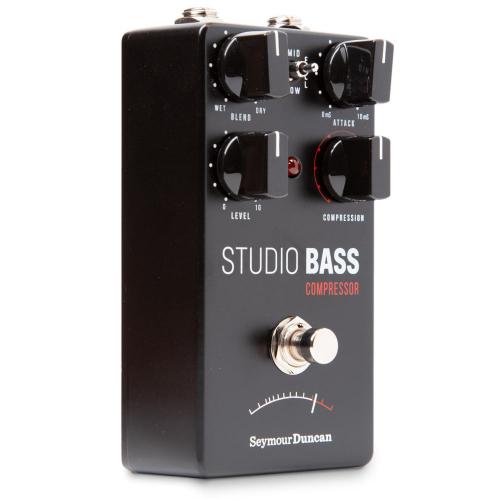 Seymour Duncan Studio Bass Compressor pedaali