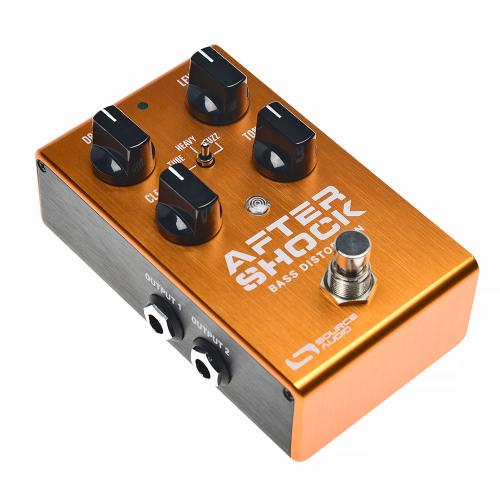 Source Audio AfterShock Bass Distortion Efektipedaali