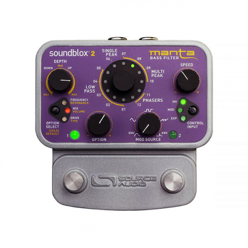 Source Audio Manta Bass Filter Effects Pedal