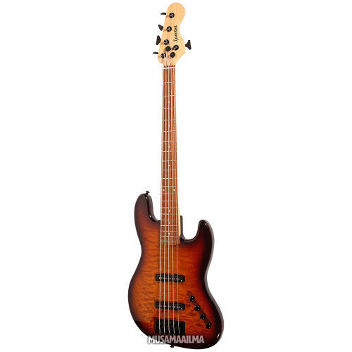 Spector Coda 5 Pro Tobacco Sunburst 5-String Electric Bass