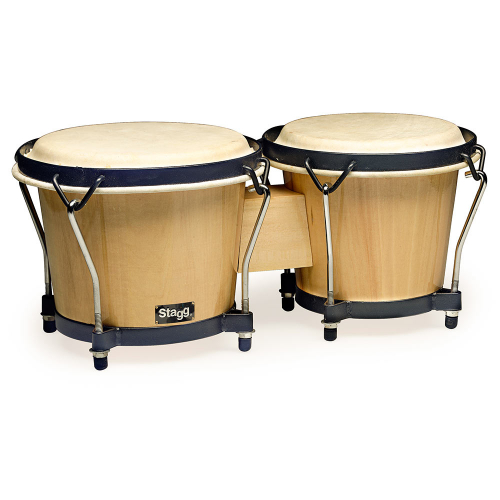 Stagg BW-70N 6 & 7 Traditional Wooden Bongo Set