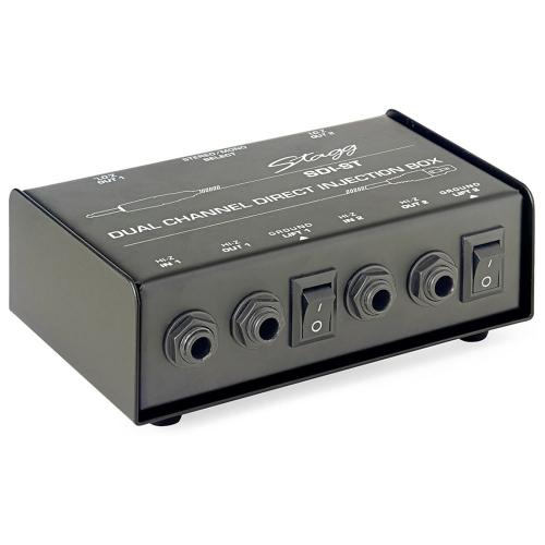 Stagg SDI-ST 2-Channel Passive Direct Box