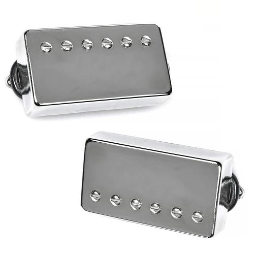 Suhr Aldrich Bridge 50 Humbucker Set Nickel Chrome Guitar Pickups