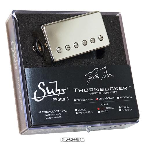 Suhr Thornbucker Bridge 50 Nickel Chrome Guitar Pickup