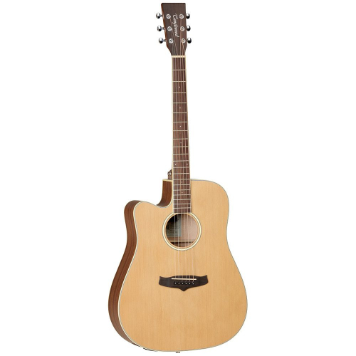 Tanglewood TW10 LH Natural Satin Left-Handed Acoustic-Electric Guitar
