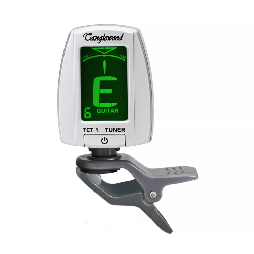 Tanglewood TCT1 Traffic Light Clip-On Silver Tuner