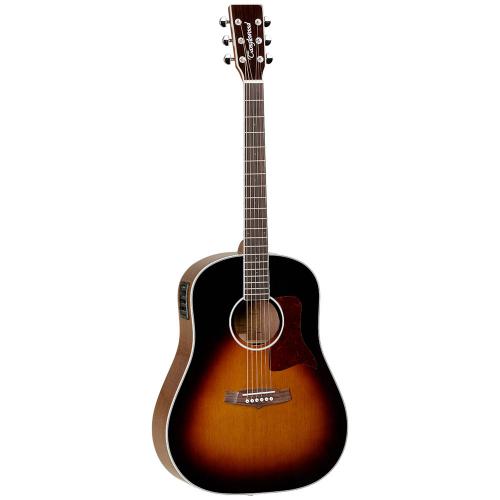 Tanglewood TW15 SDTE Vintage Sunburst Elektroakustinen kitara