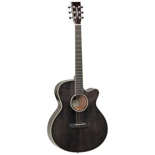 Tanglewood TW4 E Black Shadow Elektroakustinen kitara