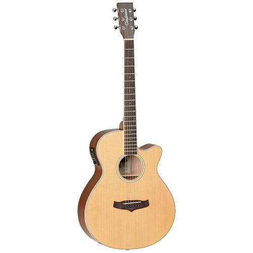 Tanglewood TW9 E Natural Satin Elektroakustinen kitara