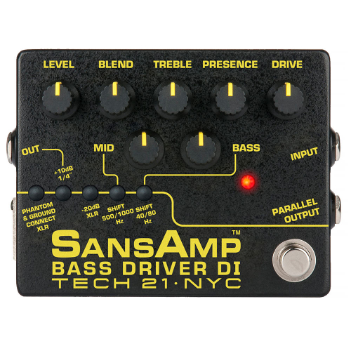 Tech 21 SansAmp Bass Driver DI v2 Pedal