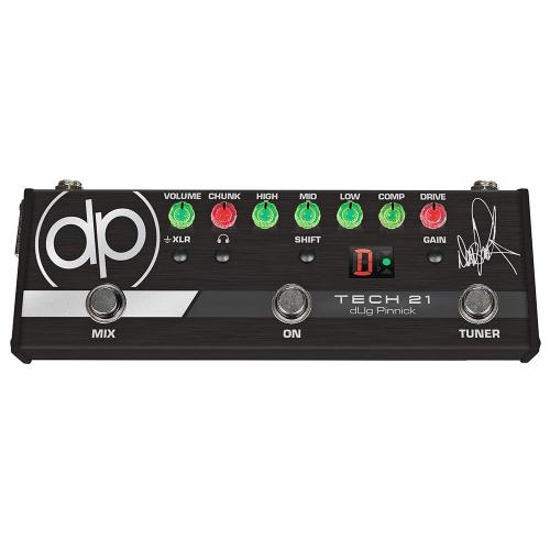Tech 21 dUg Pinnick DP-3X Signature Bass Distortion Effects Pedal