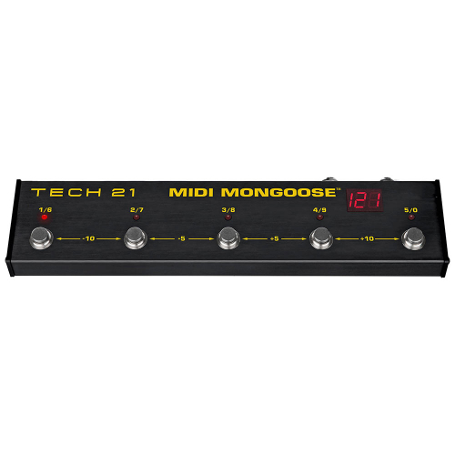 Tech 21 MIDI Mongoose Pedaali