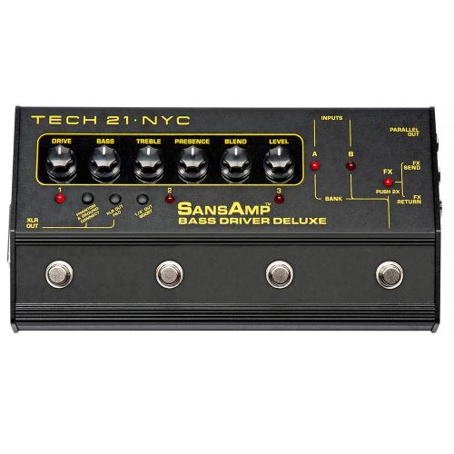 TECH 21 SansAmp Bass Driver DI Deluxe
