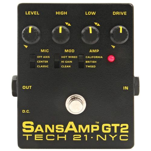Tech 21 SansAmp GT2 Preamp Pedal
