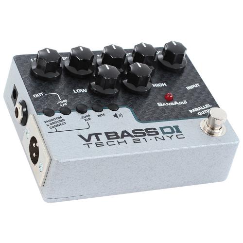 Tech 21 SansAmp VT Bass DI Preamp Pedal