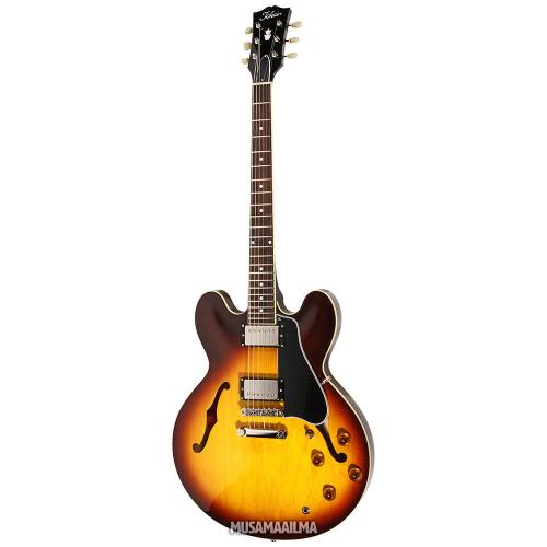 Tokai ES-138 Tea Burst Semi-Acoustic Electric Guitar