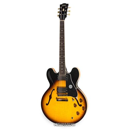 Tokai ES-188 Sunburst Semi-Acoustic Electric Guitar