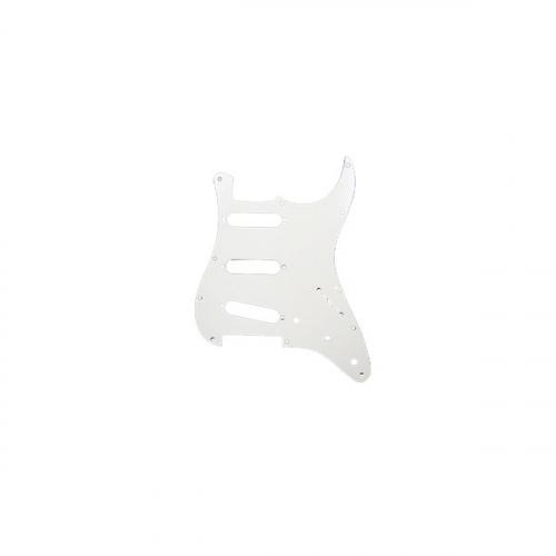 TOKAI Pickguard plektrasuoja Strat, valkoinen, 3-kerros