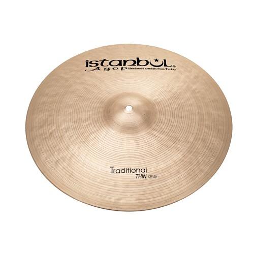"ISTANBUL Traditional Thin Crash 15"" Cymbal"