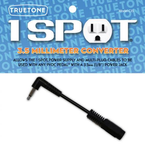 Truetone C35 3.5mm Converter virta-adapteri