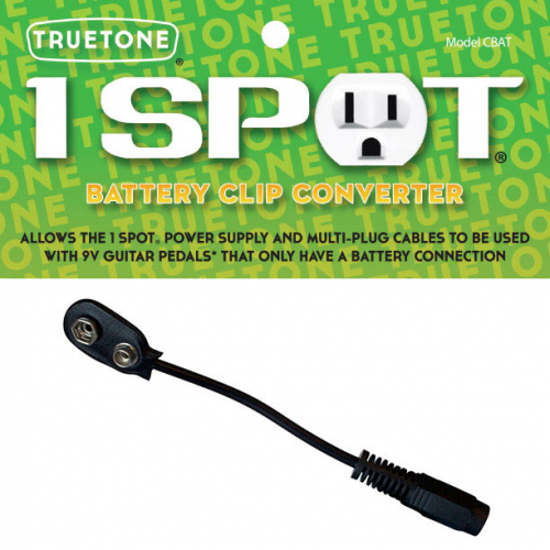 Truetone CBAT Battery clip converter