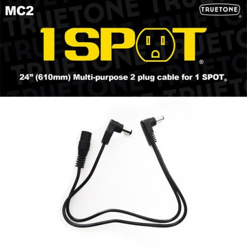 Truetone MC2 Multipurpose 2 Plug Cable