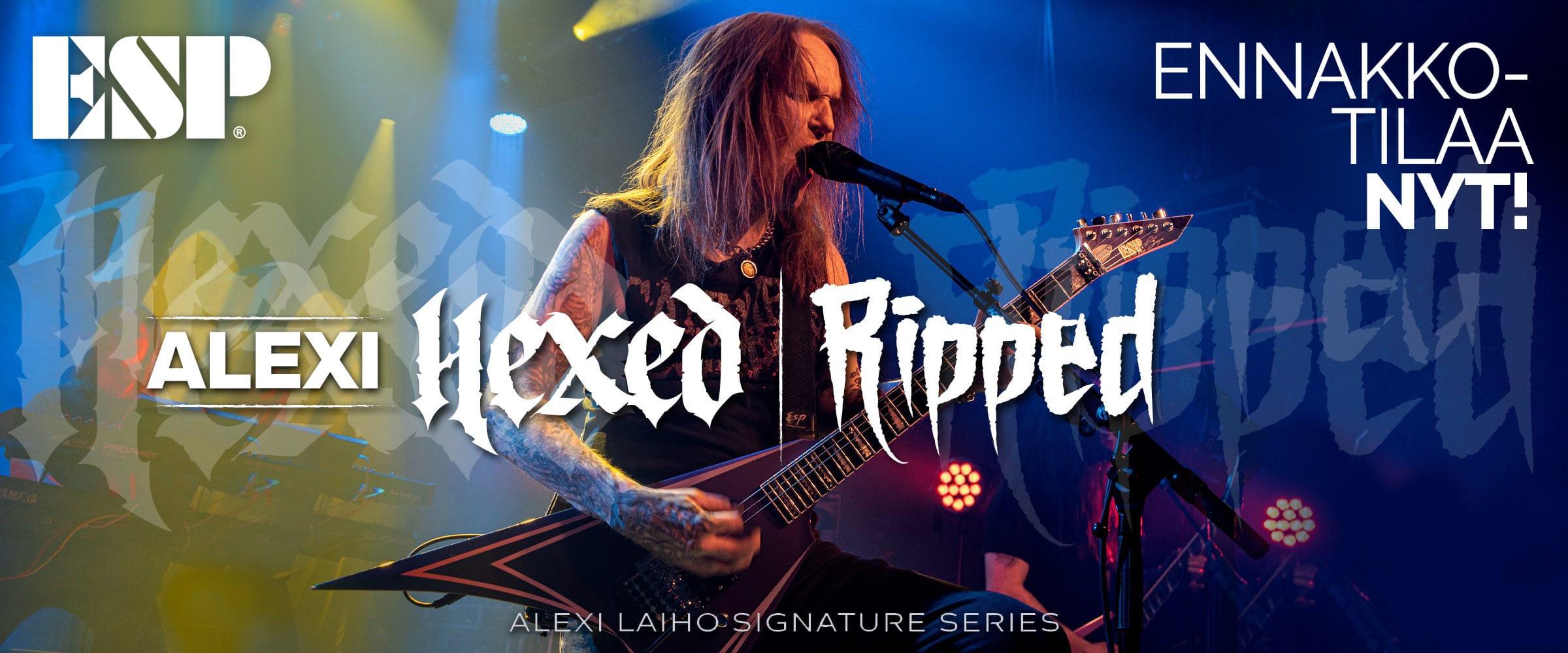 ESP Alexi Hexed | Ripped - Ennakkotilaa nyt